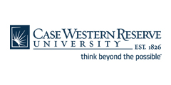 Case Western Reserve University logo with tagline