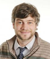 headshot of Case Western Reserve University Media Relations Specialist Colin McEwen