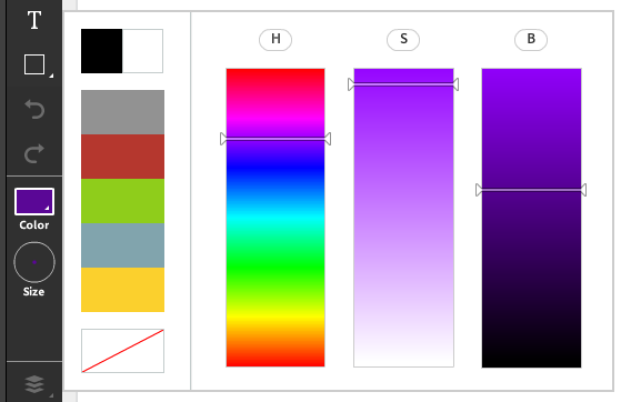 Adobe Connect Color Picker