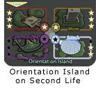 Orientation Island Graphic