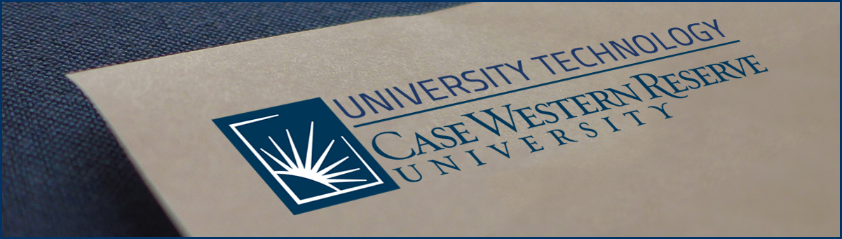 University Technology, Case Western Reserve University Letterhead