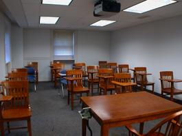 Clark CLassroom empty for TEC Display