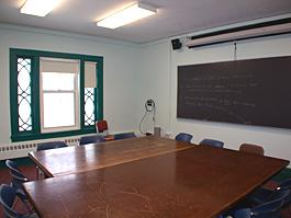 Guilford Classroom empty for TEC Display, alternate view