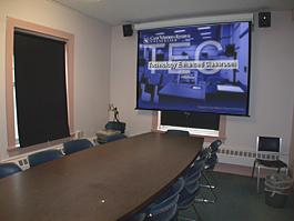 Guilford Classroom empty for TEC Display
