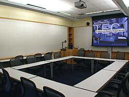 MANDC 106 empty room for TEC display, alternate view