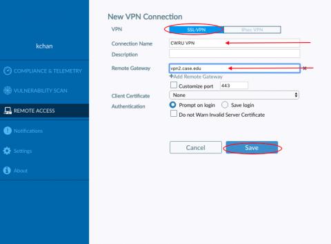 FortiClient VPN   University Technology, [U]Tech   Case Western