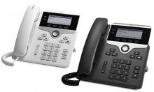 a white and black Cisco IP Phone 7821