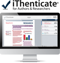 itenticate logo and screen mockup