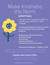 Make Kindness the Norm flyer