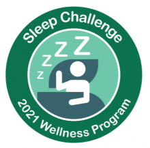 April Sleep Challenge Badge