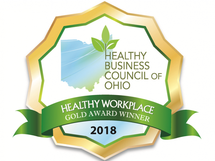 Healthy Ohio Gold Award 2018
