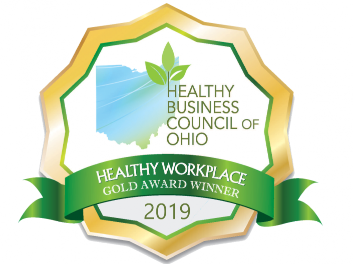 Healthy Ohio Gold Award Winner 2019